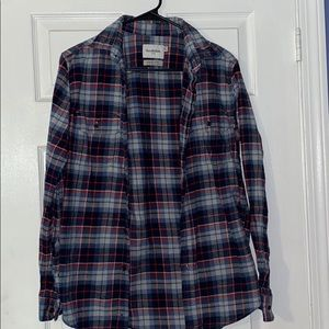 Men's button down flannel